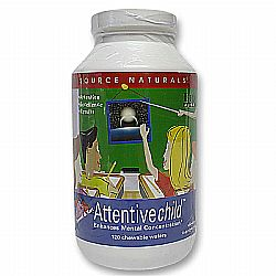 Source Naturals Attentive Child Chewables