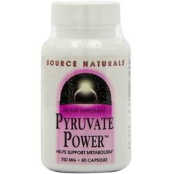 Source Naturals Pyruvate Power