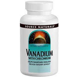 Source Naturals Vanadium with Chromium