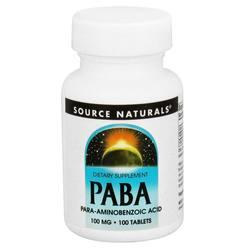 Source Naturals PABA 100 mg