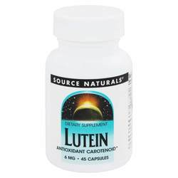 Source Naturals Lutein 6mg