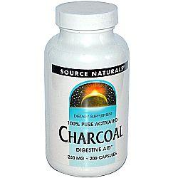 Source Naturals Charcoal 260 mg