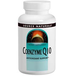 Source Naturals Coenzyme Q10 - 75mg