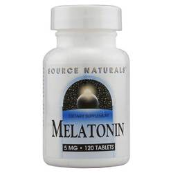 Source Naturals Melatonin 5mg