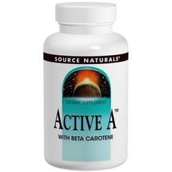 Source Naturals Active A With Beta Carotene