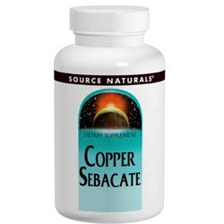 Source Naturals Copper Sebacate 22 mg