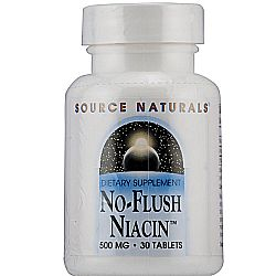 Source Naturals No-Flush Niacin 500 mg