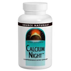 Source Naturals Calcium Night 300 mg