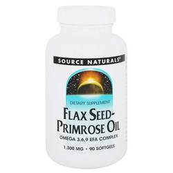 Source Naturals Flax Seed-Primrose Oil 1-300 mg
