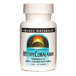 Source Naturals MethylCobalamin Vitamin B12