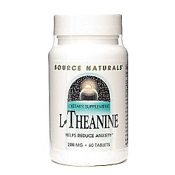 Source Naturals L-Theanine 200 mg
