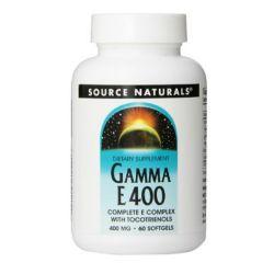 Source Naturals Gamma E 400 Complex