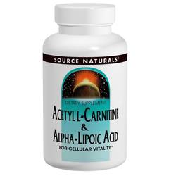 Source Naturals Acetyl L-Carnitine  Alpha Lipoic Acid