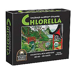 Source Naturals Emerald Garden 100- Organic Chlorella 200 mg