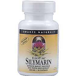 Source Naturals EuroPure Silymarin 200 mg