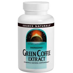 Source Naturals Energizing Green Coffee Extract 500mg