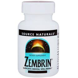 Source Naturals Zembrin 25 mg