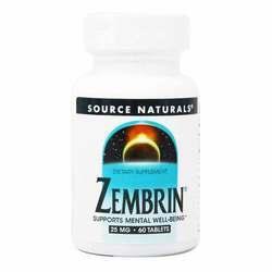 Source Naturals Zembrin 25 mg