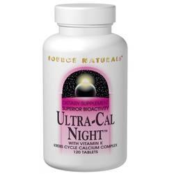 Source Naturals Ultra Cal Night w Vitamin K