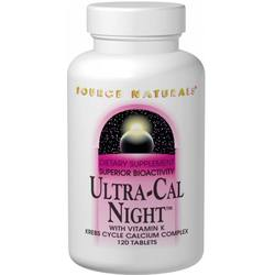 Source Naturals Ultra Cal Night w Vitamin K