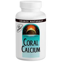 Source Naturals Coral Calcium 600 mg