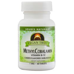 Source Naturals Vegan True Methylcobalamin Vitamin B-12