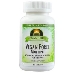 Source Naturals Vegan True Vegan Force Multiple
