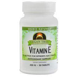 Source Naturals Vegan True Vitamin E