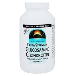 Source Naturals Glucosamine Chondroitin Extra Strength