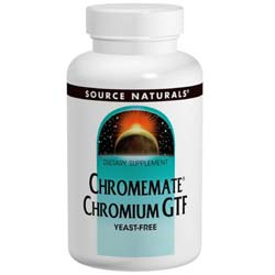 Source Naturals ChromeMate Chromium GTF