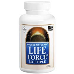 Source Naturals Life Force Multiple- No Iron