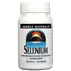 Source Naturals Selenium 200 mcg