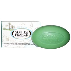 South Of France French Milled Oval Bar Soap