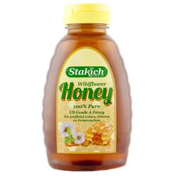 Stakich Liquid Wildflower Honey