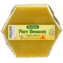 Stakich Pure Beeswax Block