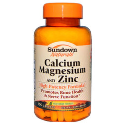 Sundown Naturals Calcium Magnesium and Zinc