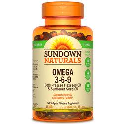 Sundown Naturals Omega 3-6-9