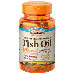 Sundown Naturals Omega-3 Fish Oil