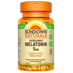 Sundown Naturals Dissolvable Melatonin