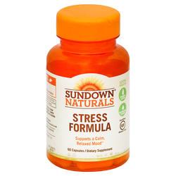 Sundown Naturals Stress Formula