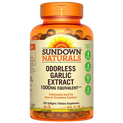 Sundown Naturals Garlic Extract
