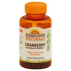 Sundown Naturals Super Cranberry