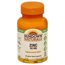 Sundown Naturals Zinc