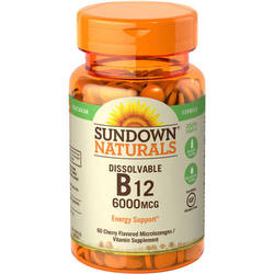 Sundown Naturals Dissolvable B12