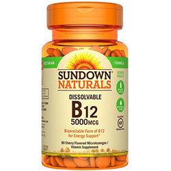 Sundown Naturals B12