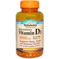 Sundown Naturals Vitamin D3