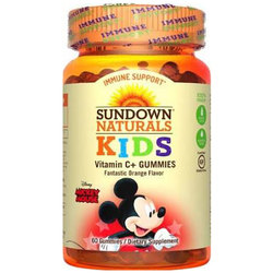 Sundown Naturals Mickey Mouse Vitamin C +