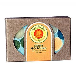 Sunfeather Merry Go Round Soap