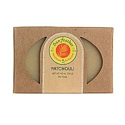 Sunfeather Patchouli Soap
