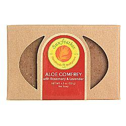 Sunfeather Aloe Comfrey Soap